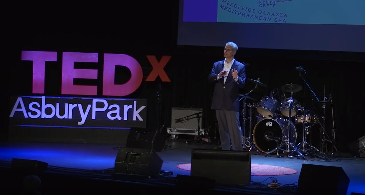 John Sitilides speaking on TEDx